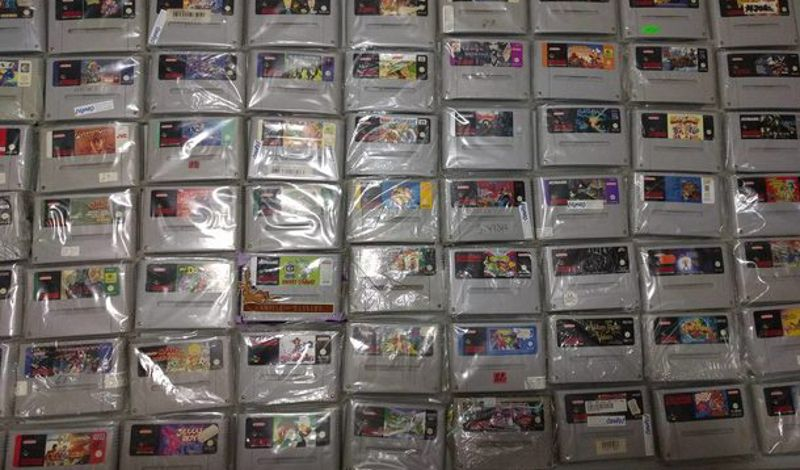 One Month Later Guy Recovers $10000 Worth Of SNES Games That Were Lost In The Mail