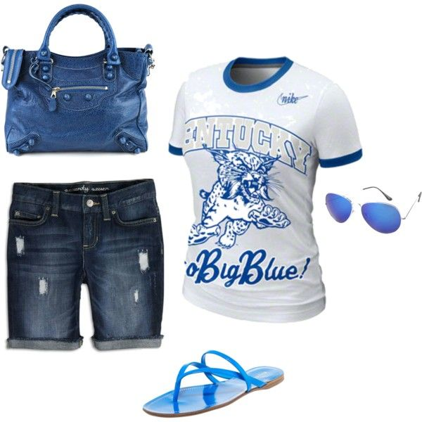 Big Blue!, created by #jamielear on #polyvore.