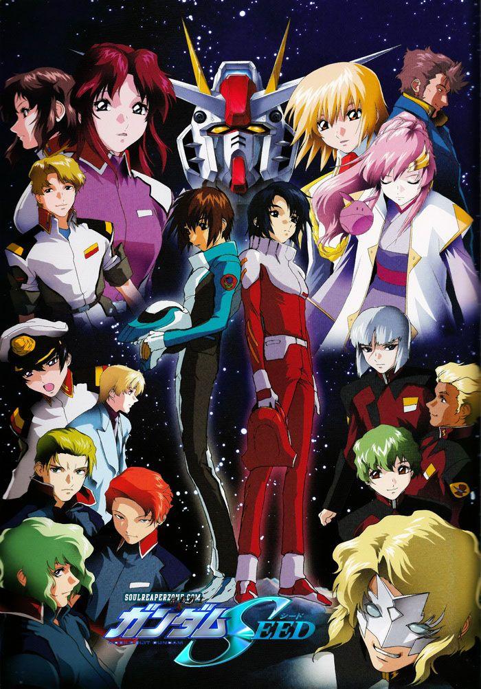 Mobile Suit Gundam Seed HD Remaster Dual Audio Bluray [BD