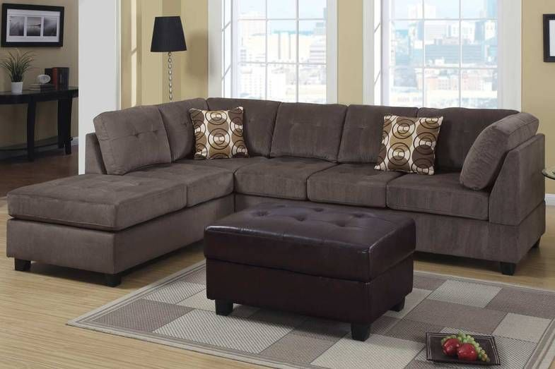 Fabric Sectional Sofa F7263 Cheap Microfiber Sectional Sofa