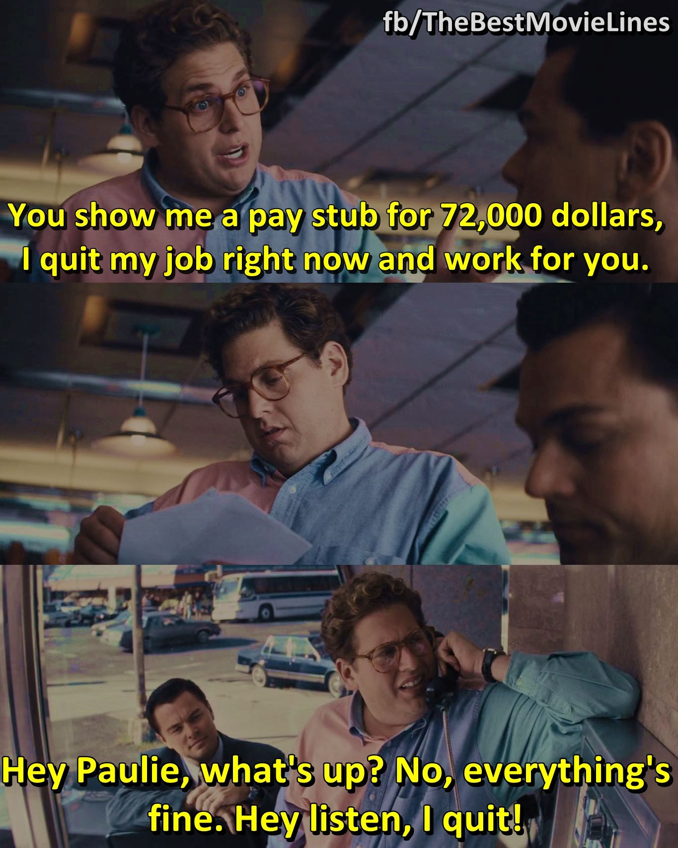 The Best Movie Lines Movies Quotes Scene Best Movie Lines Wolf Of Wall Street