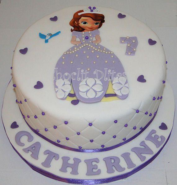 Catherines Princess Sofia cake Princess sofia cake Sofia cake