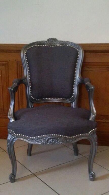 Cabriolet Ma Premiere Renovation Relooker Meuble Mobilier De Salon Chaise Louis Philippe