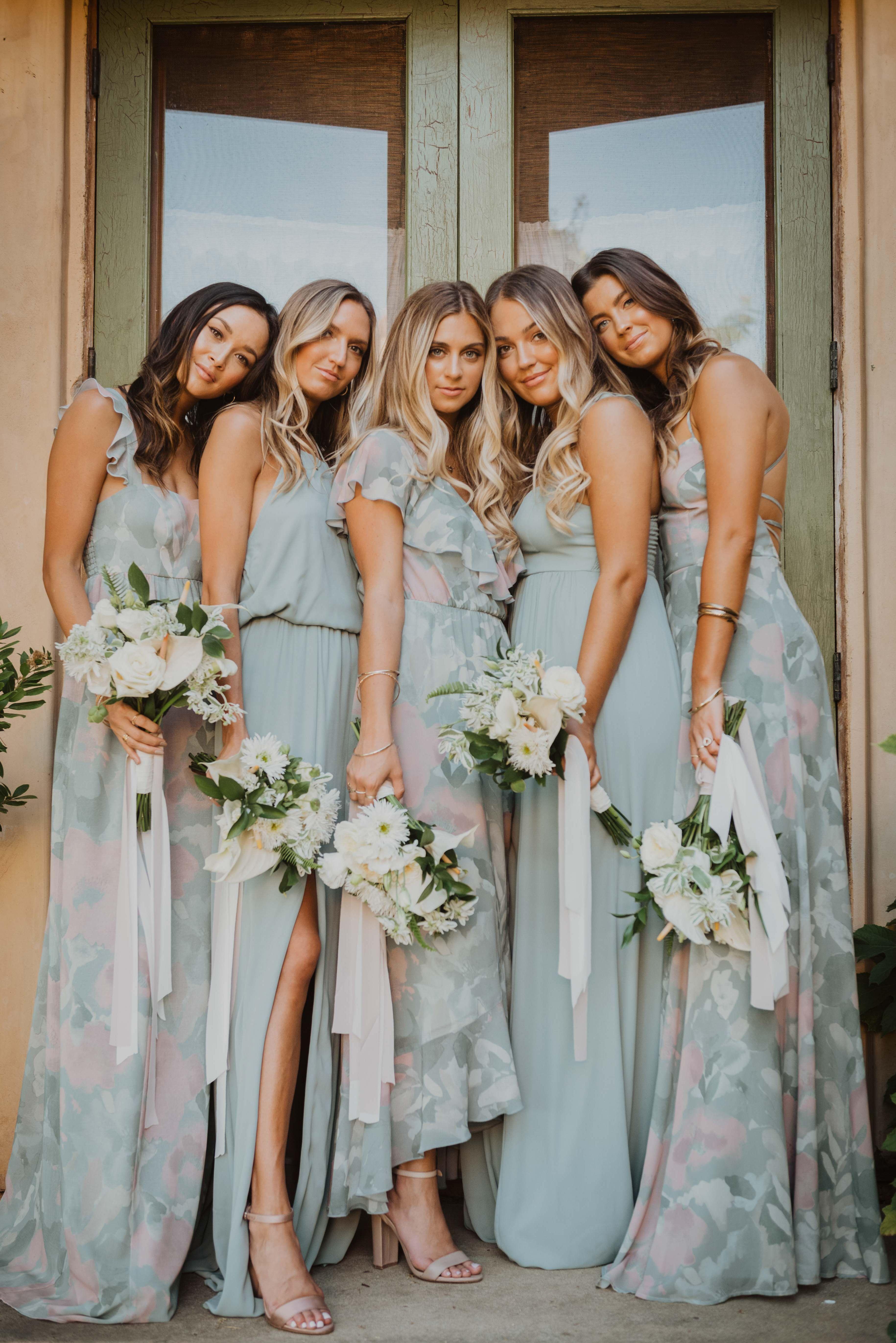 Mumu Weddings Winter Bridal 2019 In 2020 Bridesmaid Dress Colors Latest Bridesmaid Dresses Boho Style Wedding