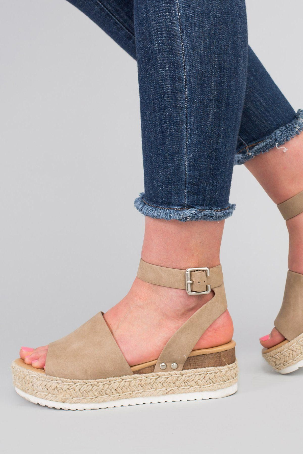 Platform sandals, Wedge sandals, Shoes
