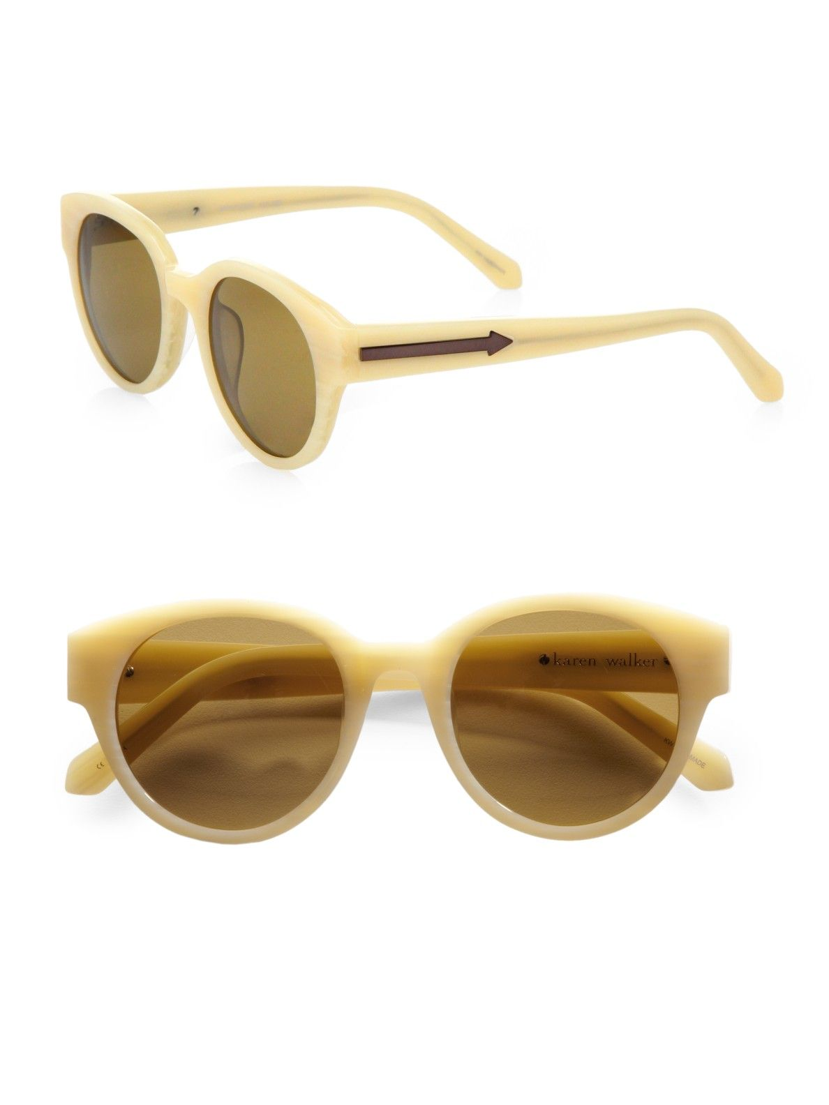 4cc3706d0527 Women s Natural Anywhere Round Acetate Sunglasses