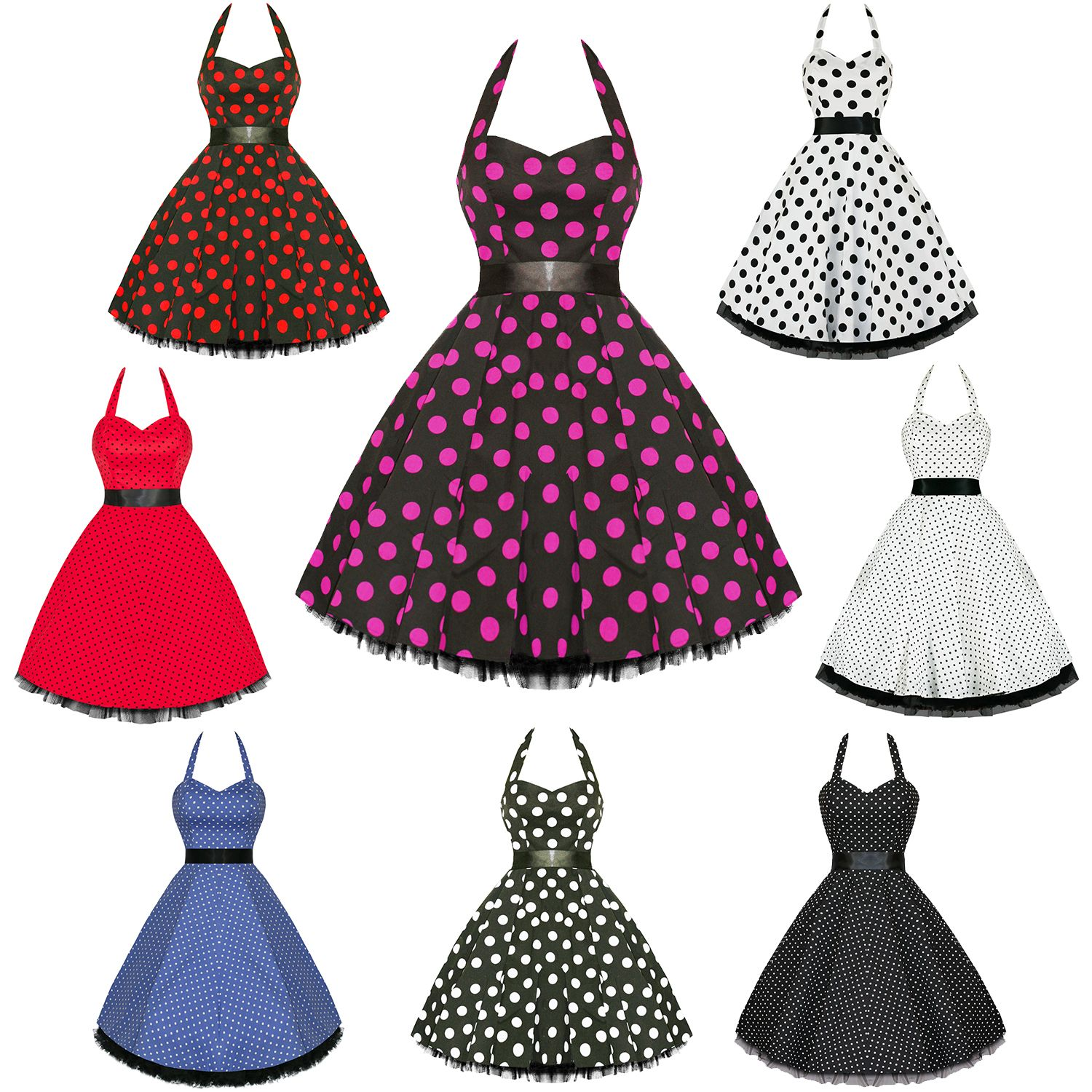 Cheap 50 s style dresses uk party