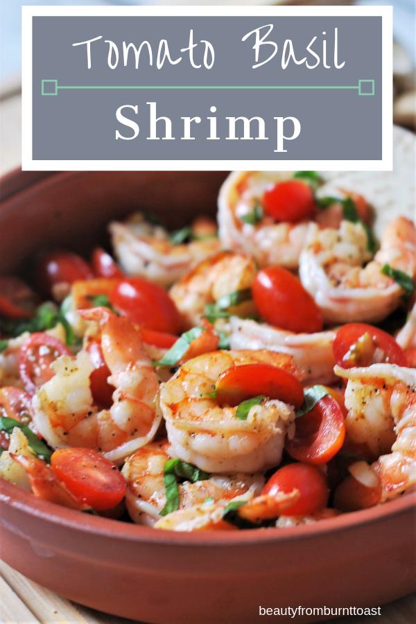 Tomato Basil Shrimp Beautyfromburnttoast Recipe Shrimp Dishes Seafood Recipes Food