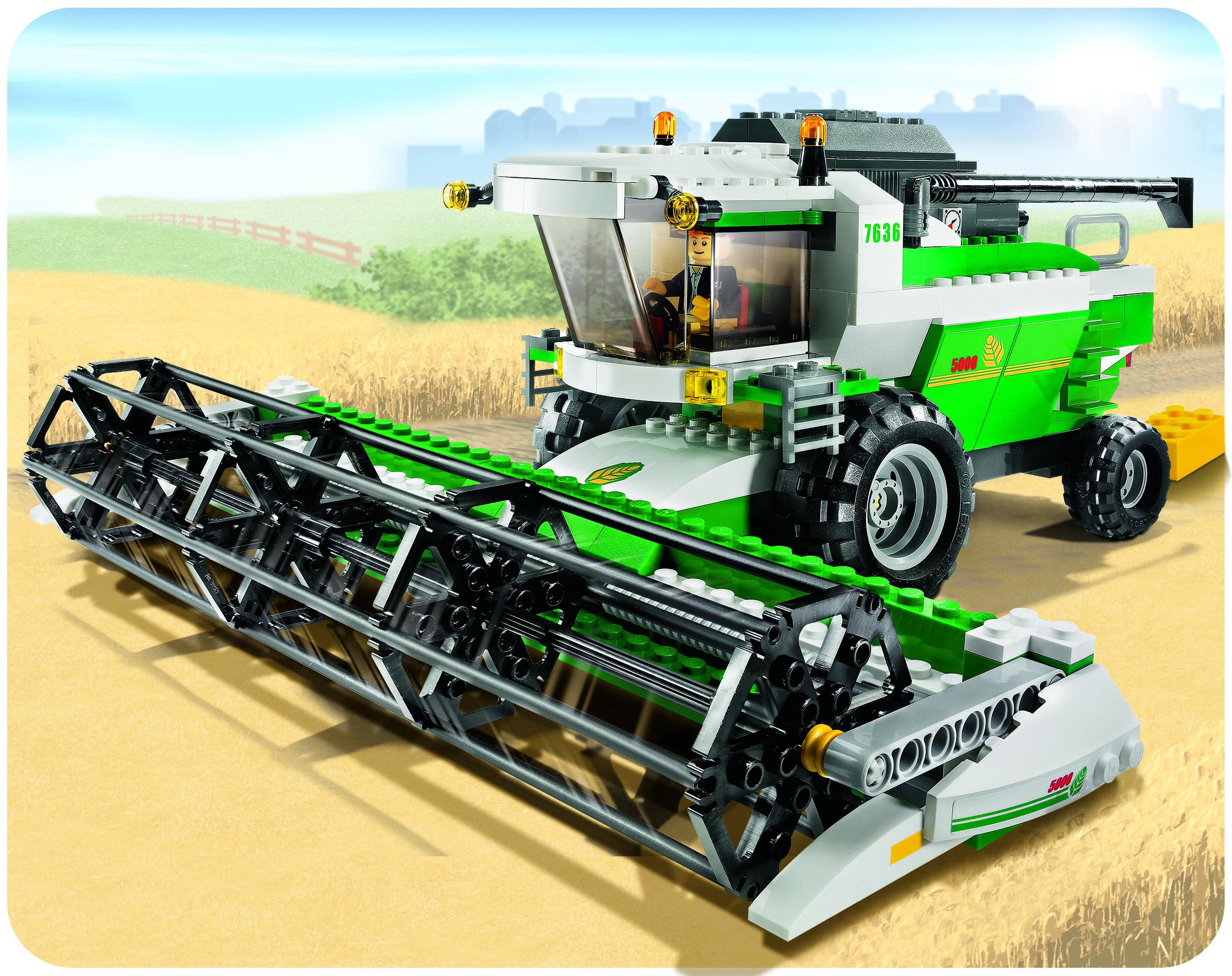 combine harvesters | Legos magnificent Combine Harvester ...