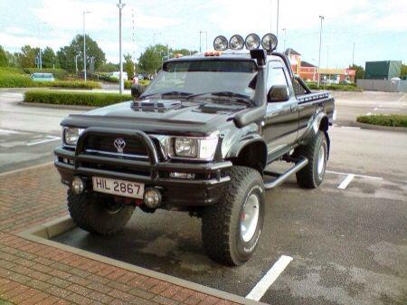 Toyota Hilux Toyota Hilux Toyota Pickup 4x4 Toyota Trucks