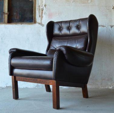Ledersessel Der 60er 70er Jahre Mit Bildern Rustikal Innenarchitektur Sessel