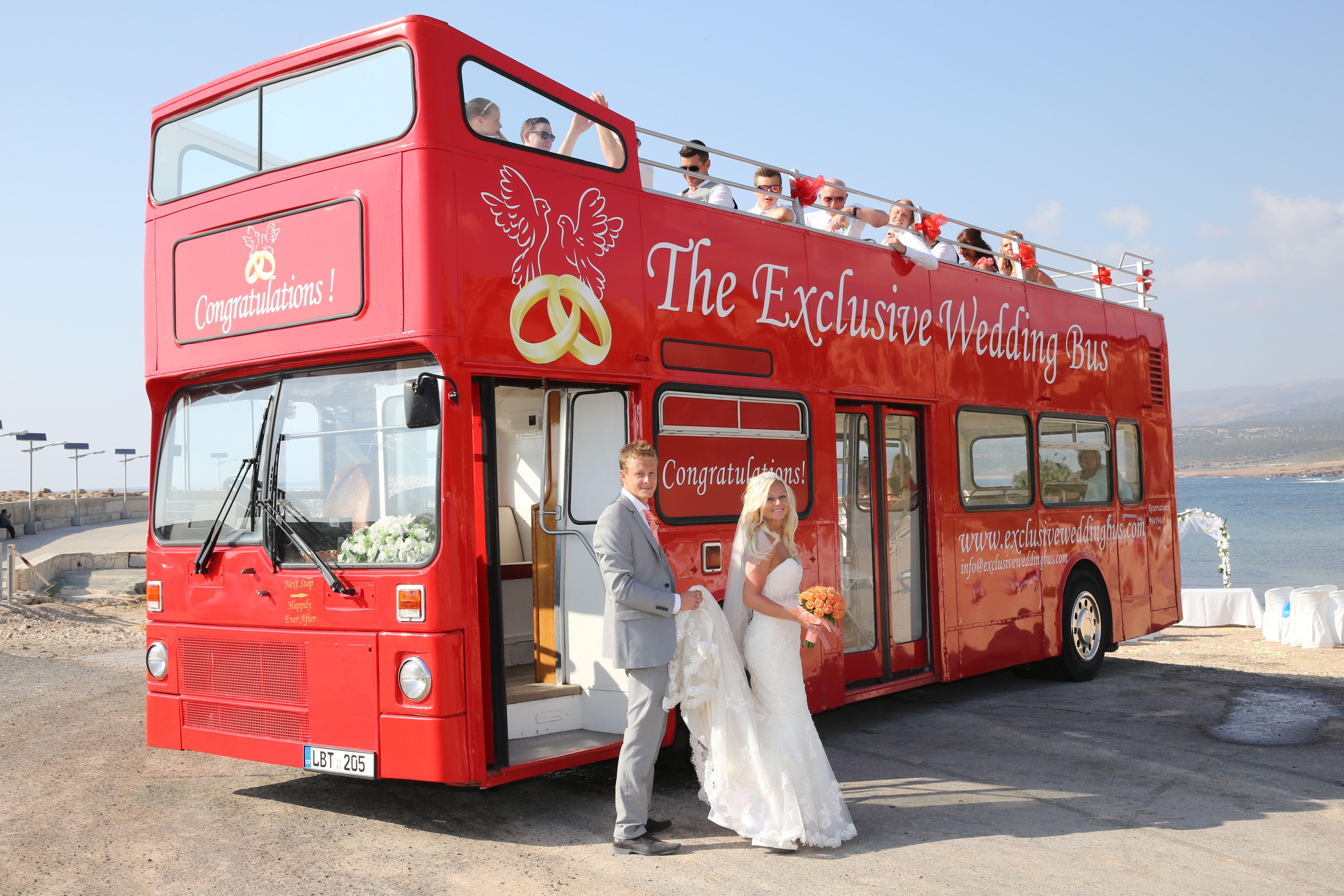 London Red Bus Weddings Exclusives Paphos Cyprus Red Bus Bus Paphos