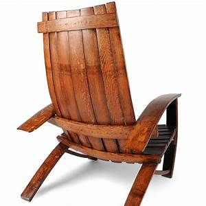 Wine Barrel Chair Chair Made With Wine Barrels Offcyclers