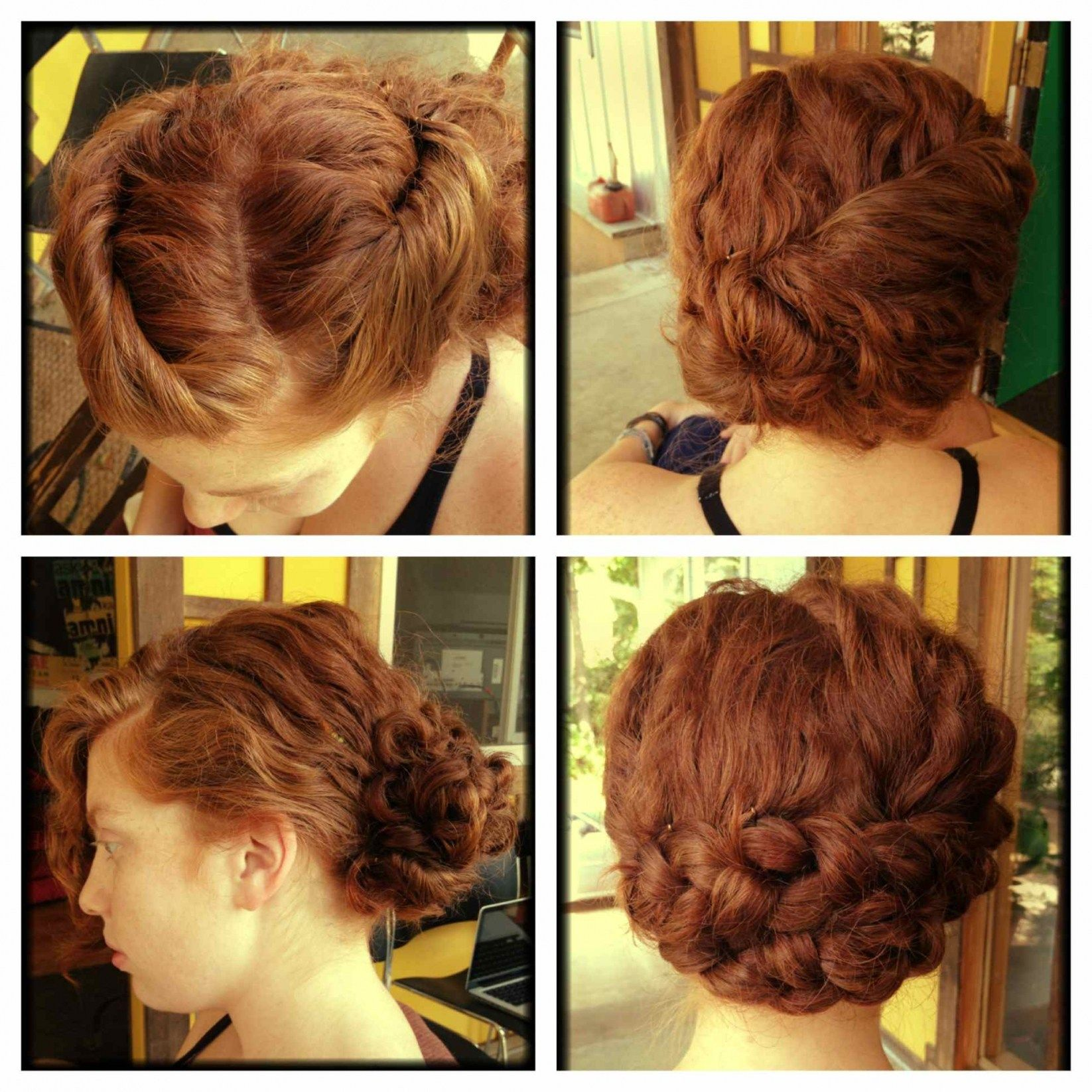 do it yourself wedding hairstyles for curly hair | do it