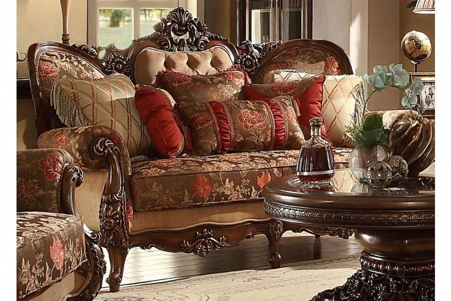 2 piece traditional hd39 living room set