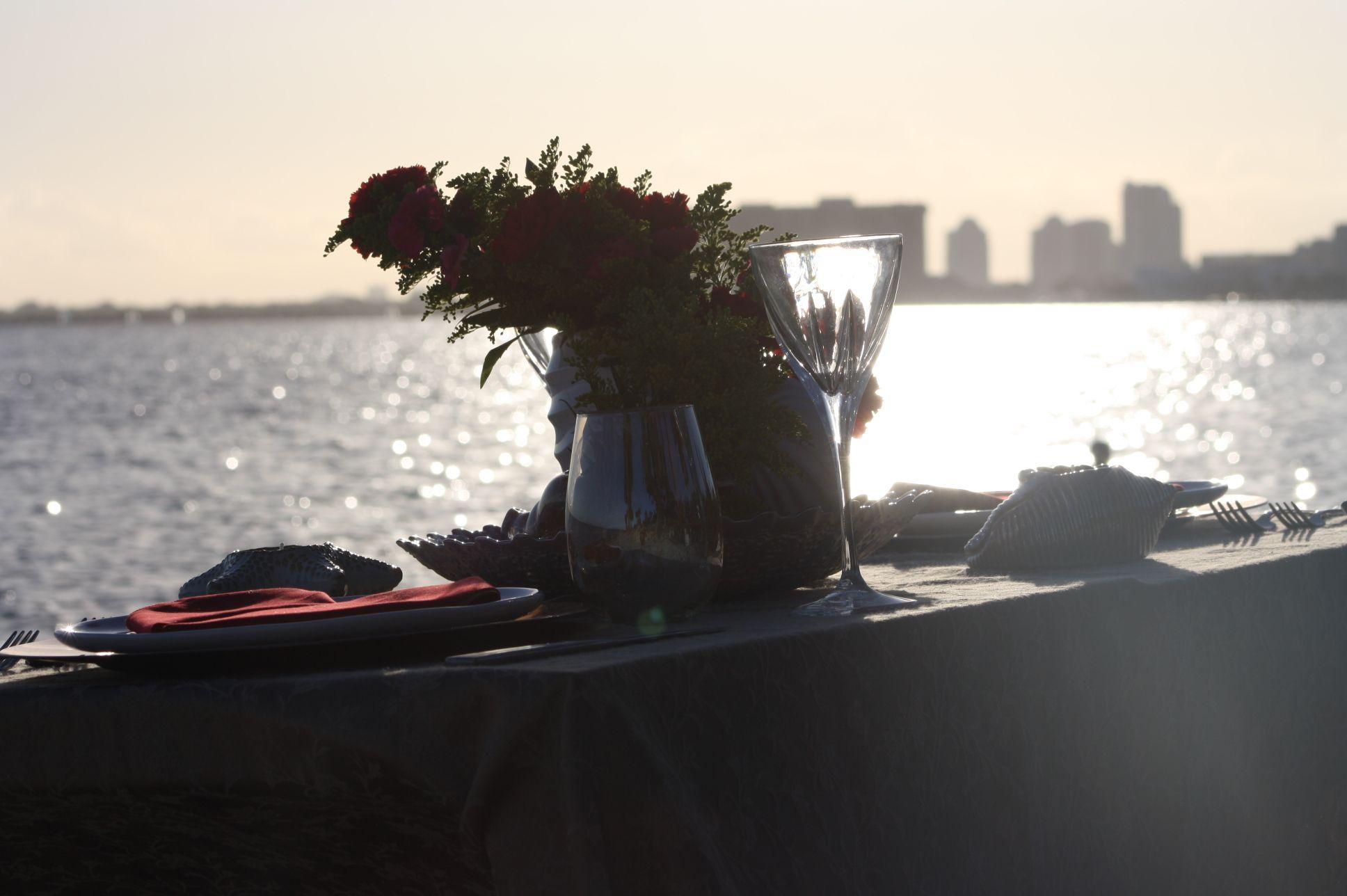 #sunsent #keybiscaine #flowersdesign #valentinefor2