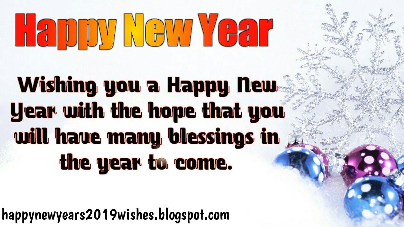 Happy New Year English 18