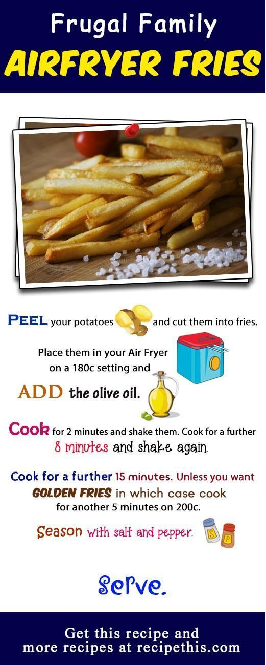 How To Make The Best Ever Air Fryer Fries Recipe Air