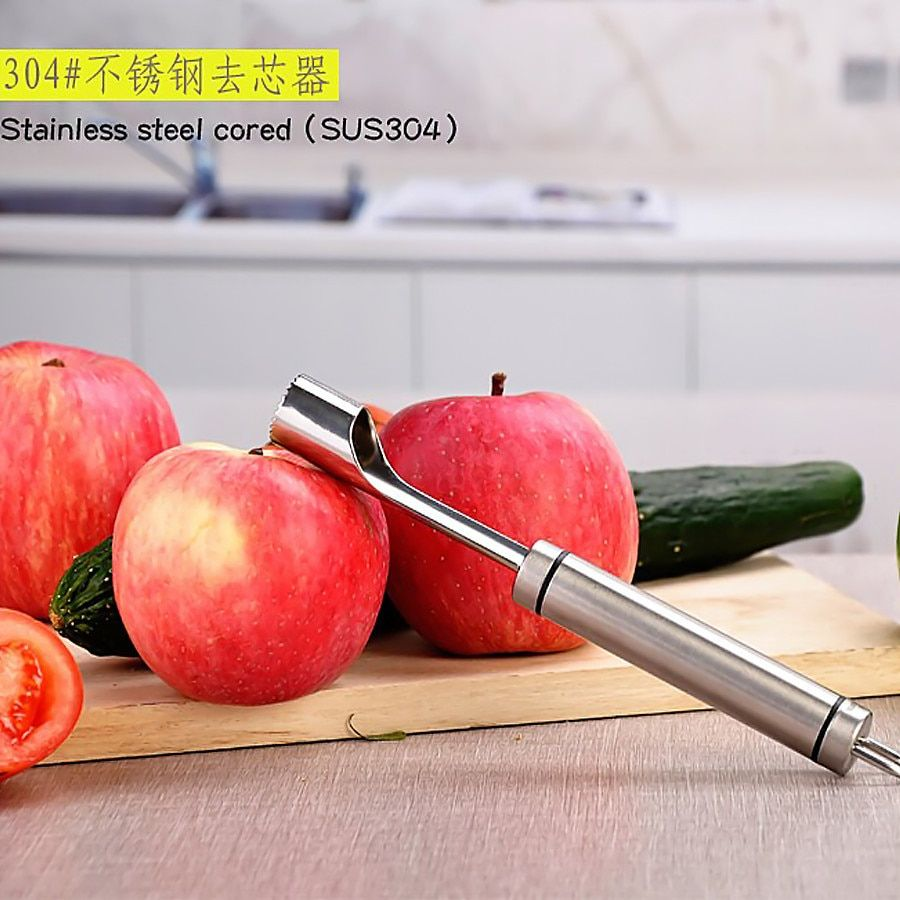 New Apple Corer Stainless Steel Pear Fruit Vegetable tools Core Seed Remover Cut