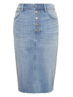 745915017a3bc5 Denim Pencil Skirt