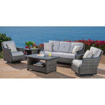 Costco 3000 Lago Brisa 6 Piece Deep Seating Set Patio