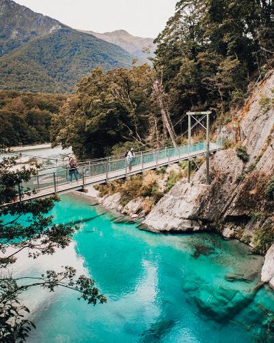 New Zealand Travel inspiration! Beautiful travel destination for travel photography
