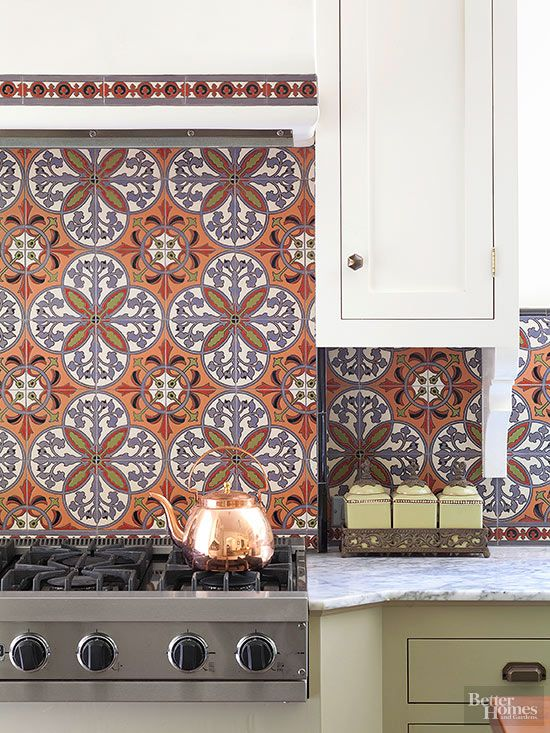 34 Kitchen Backsplash Tile Ideas Pretty patterns, Tile ideas and
