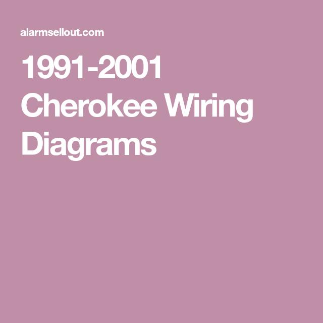 1991-2001 Cherokee Wiring Diagrams   Diagram, Cherokee, Wire