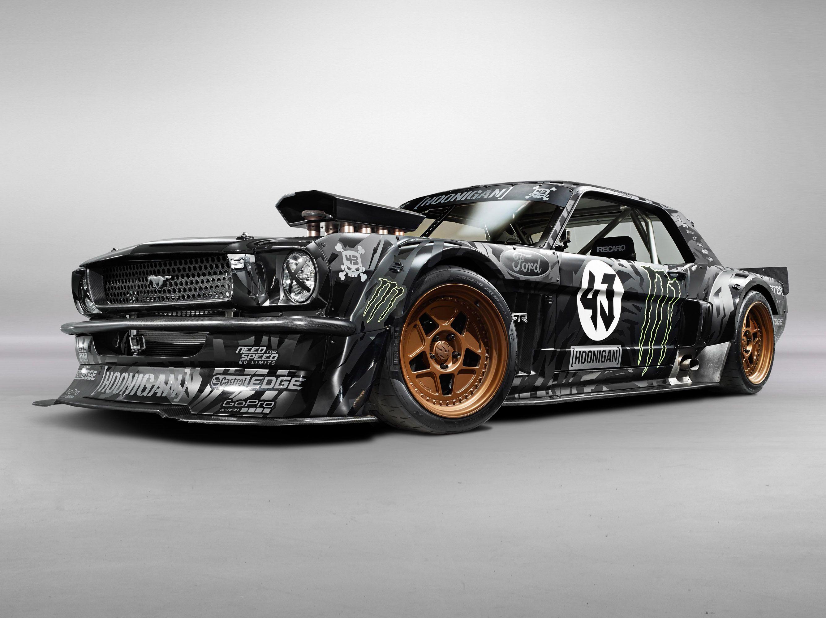 Ken Block Unveils The Exclusive Hoonigan Ford Mustang Rtr Ken