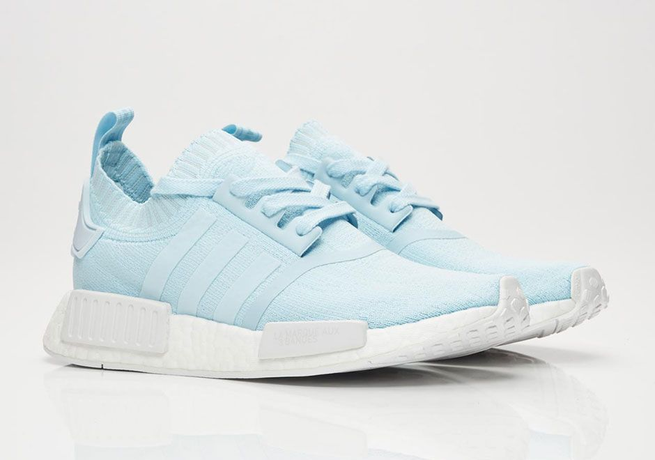 adidas NMD R1 Ice Blue Grey Heather Release Info BY8763