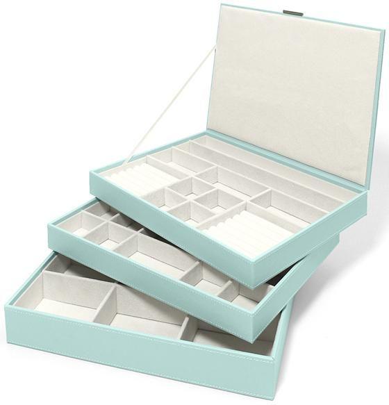 Novelle 3Tray Stacking Jewelry Box box Pinterest Trays