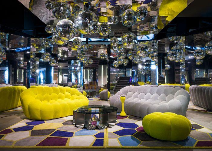 Bubble sofa roche bobois meuble design décoration intérieur