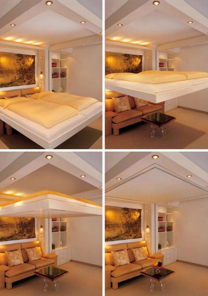 20 Ideas Of Space Saving Beds For Small Rooms   The murphy bed plans ...