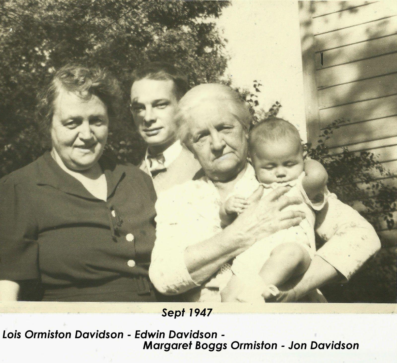 Bovina (NY) History: Families of Bovina - Four Generations follow-up