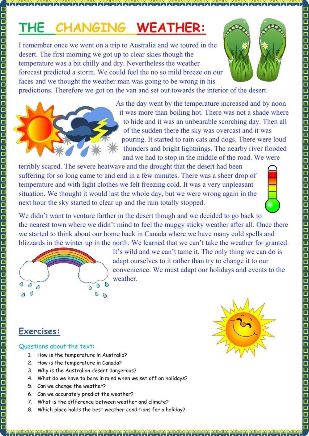 Pin By Irina Sargsyan On Learn English Reading Comprehension Worksheets Reading Worksheets Reading Comprehension [ 1411 x 1000 Pixel ]