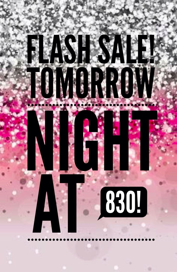 Flash sale ad Younique Pinterest Ground floor, Pure