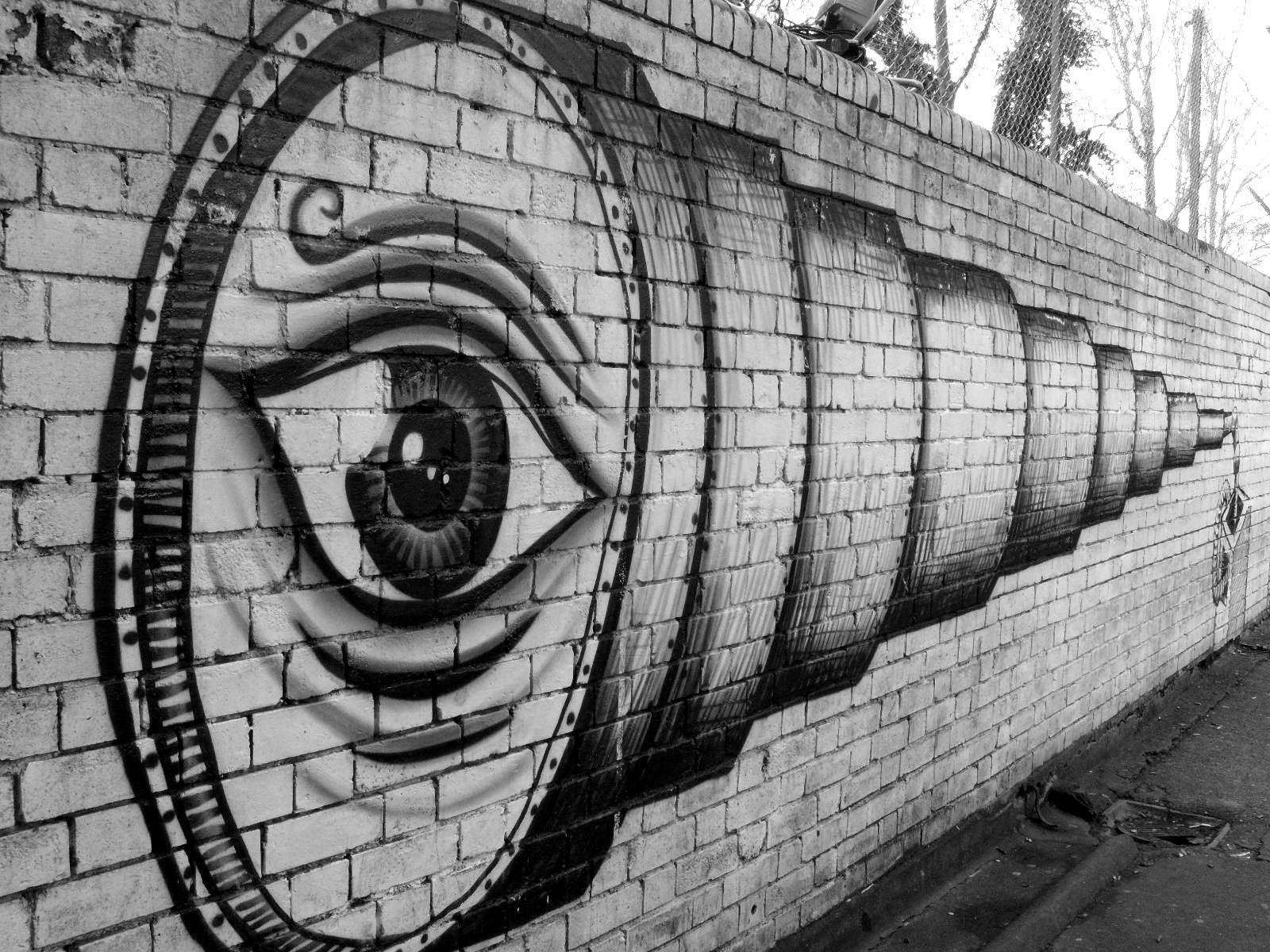 Street art London - part 2: Phlegm
