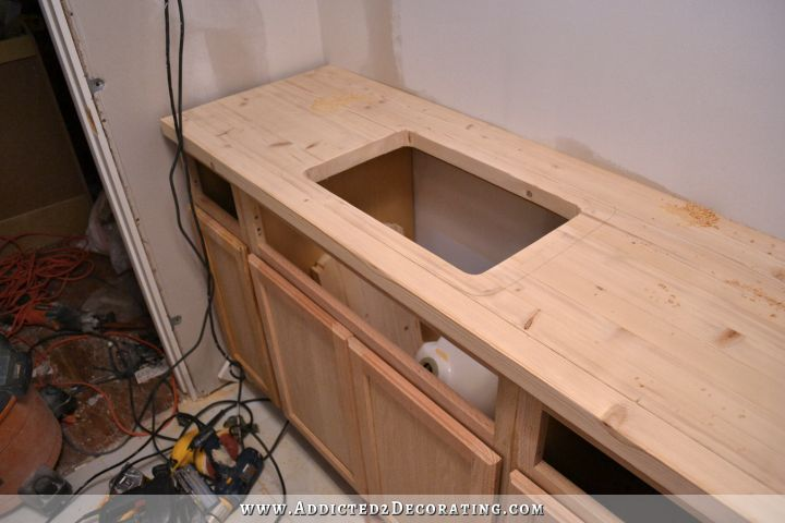 Diy Butcher Block Countertop Made For Under 30 Kitchen Design