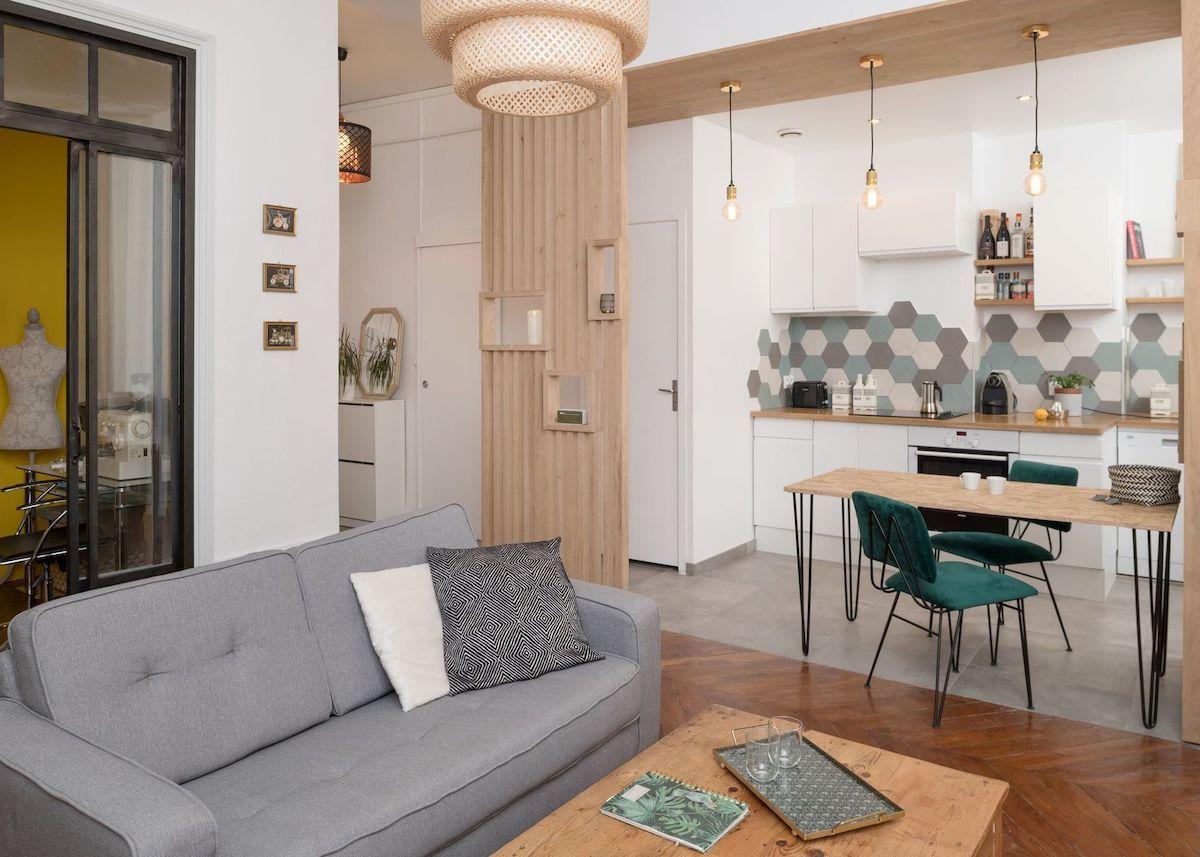 Deco Petit Salon Avec Cuisine Ouverte en 15  Cuisine ouverte