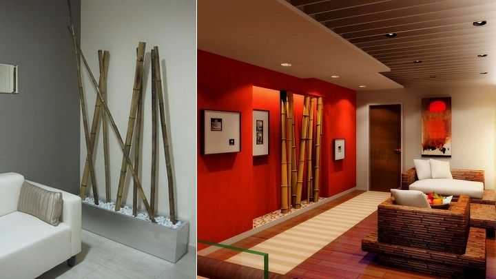 Resultado de imagen para decoracion bambu jardines Pinterest - decoracion con bambu