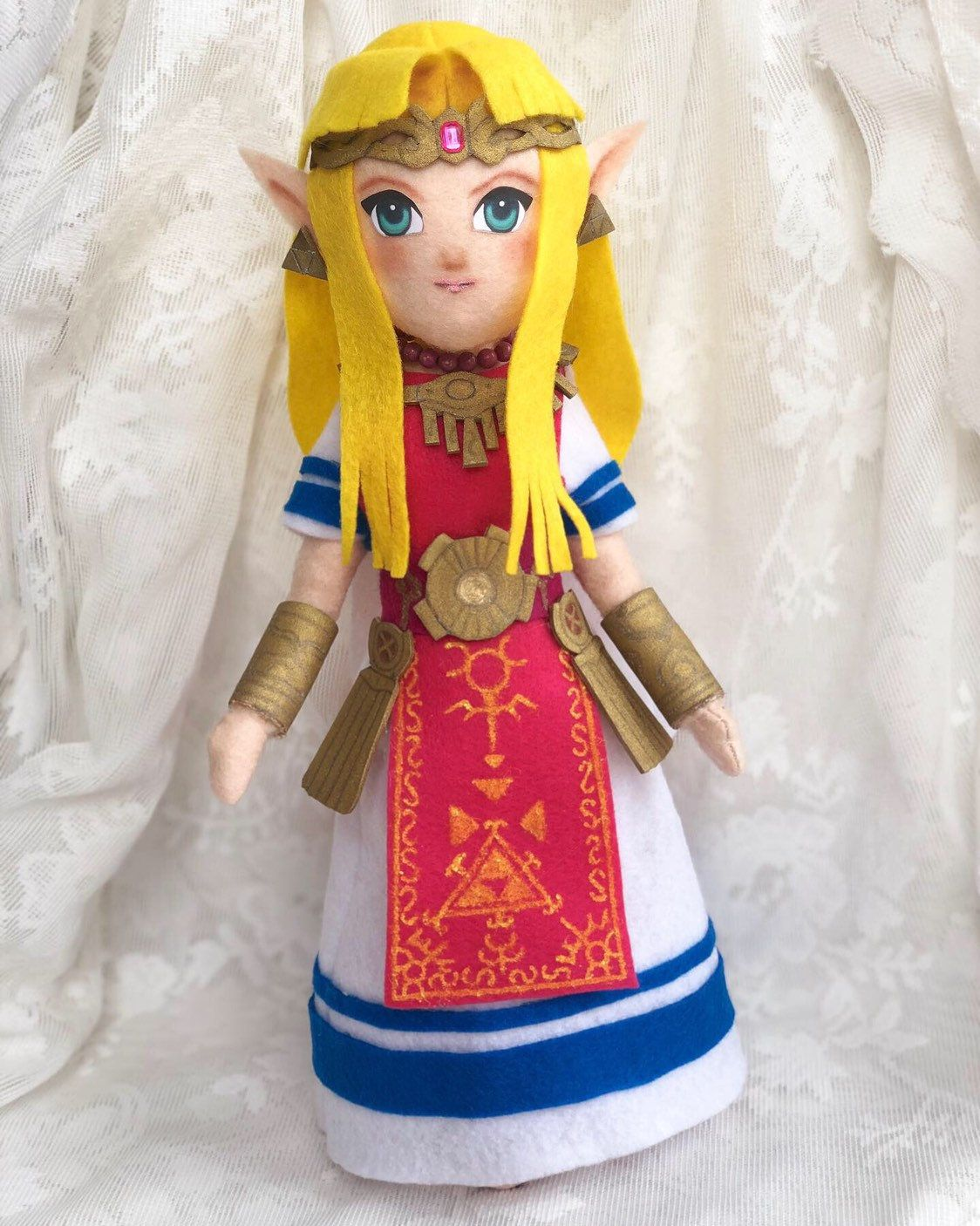 Princess Zelda 14 Plush Smash Bros Ultimate A Link Between