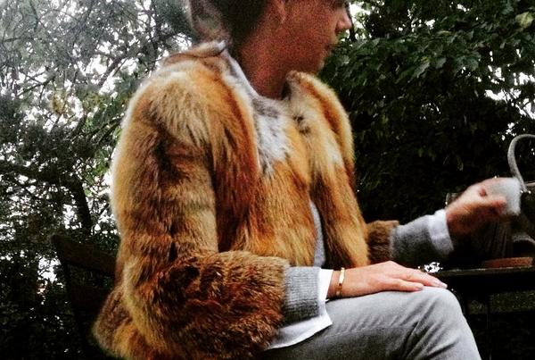Fox Fur Jacket, Victoria | Mink and Honey