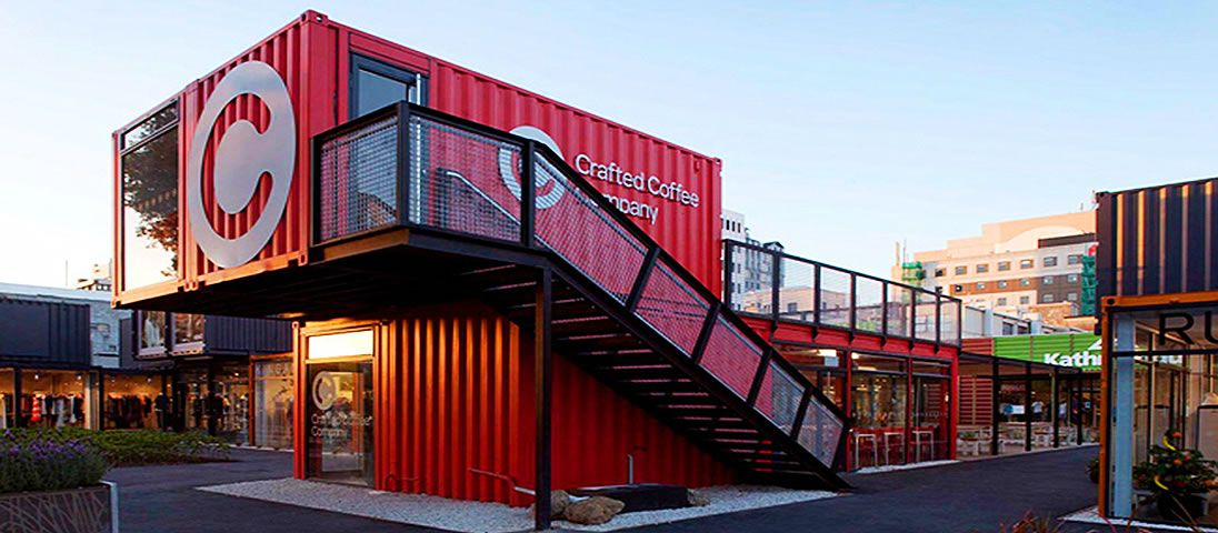 Buildings Made From Shipping Containers Google Search