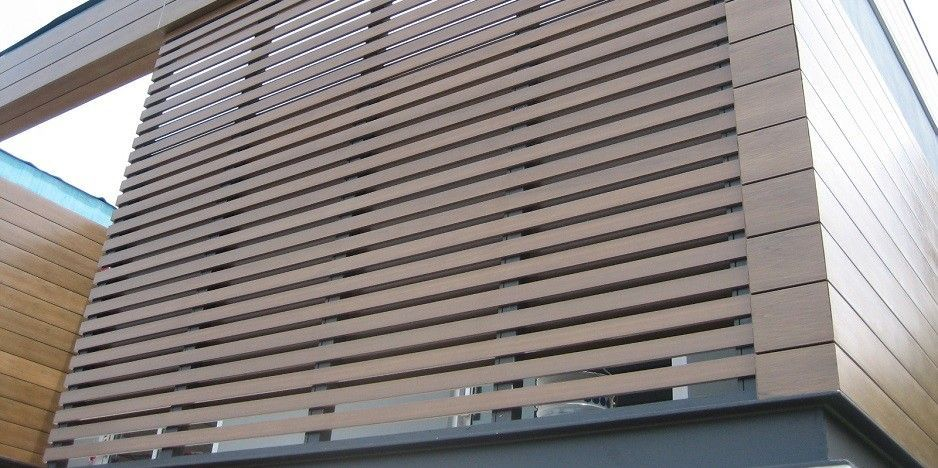 Biowood Wall Facade Installed In Australia Composite