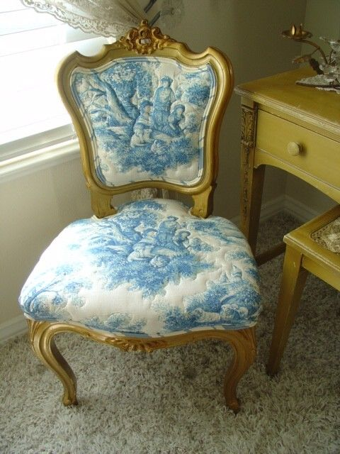 Swell French Toile All Things French In Home Decor Toile De Machost Co Dining Chair Design Ideas Machostcouk
