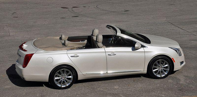 2013 Cadillac XTS convertible
