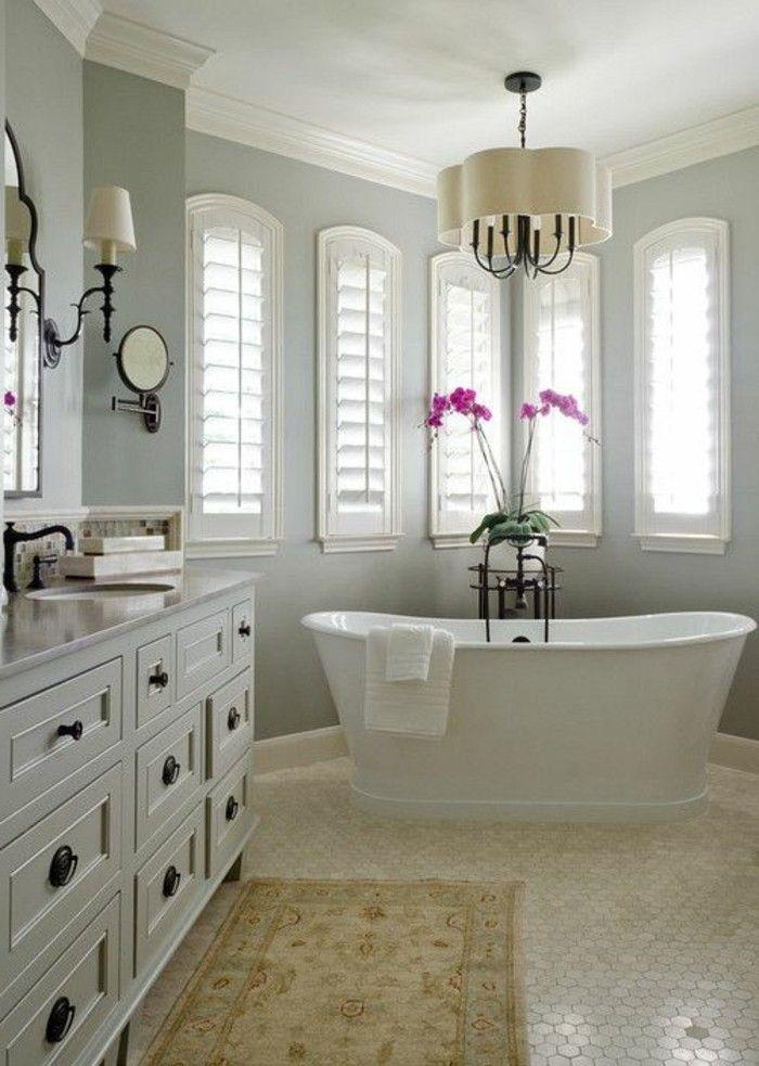badezimmer deko baddesign in weis weise retro badewanne rosa - badezimmer weis
