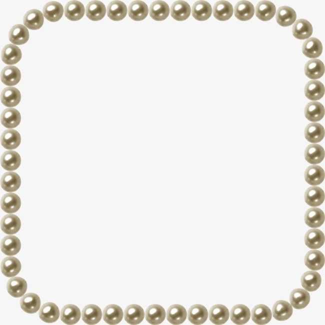 Pearl Jewelry Frame Png Image Vintage Jewelry Ideas Pearl Background Pearls