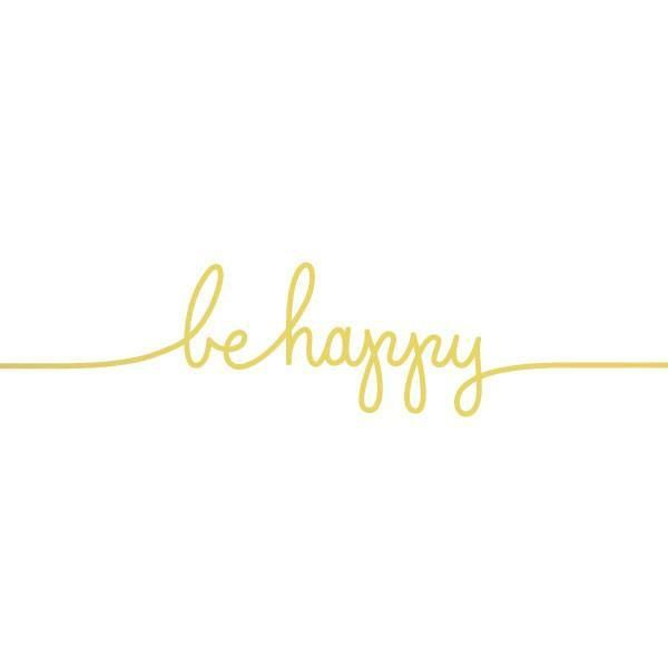 ded26b99d3a6e Be happy gold bracelet tattoo | Instagram analytics | Gold temporary ...