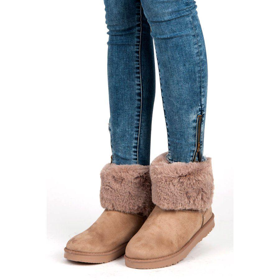 Kylie Mukluki Z Kokarda Brazowe Ugg Boots Boots Uggs